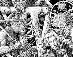 "Check out new work on my @Behance portfolio: ""IV. Apocalypse."" http://be.net/gallery/33632335/IV-Apocalypse"