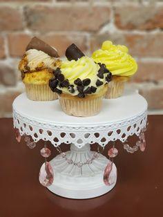 Cupcake Flavors, Gourmet Cupcakes, Chips, Lemon, Banana, Chocolate, Desserts, Food, Meal