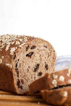 Cinnamon Raisin Oatmeal Bread - Seasons and Suppers Cinnamon Raisin Bread, Oatmeal Bread, Biscuit Pizza, Yeast Bread Recipes, Bread Rolls, Daily Bread, Good Food, Cooking Recipes, Favorite Recipes