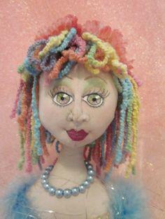 Candy - A Cloth Art Doll