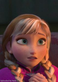 """""""Oh, Anna...if only there was someone who loved you.""""  """"What?  I thought you did.."""" Anna Frozen, Disney Frozen, Frozen Art, Cute Disney, Disney Girls, Disney Magic, Walt Disney, Disney Land, Princess Anna"""