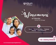 Making travel fun and exciting for the family!!!  For booking : Call / Whatsapp : +91 9995218935, +91 9895999412 Website : www.honeymoonpackagekerala.in #family #familytrip #familytime #keralatrip #Godwinholidays