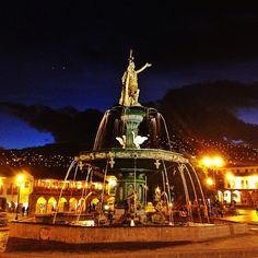 "See 3053 photos from 16439 visitors about cute, architecture, and balcony. ""The first impression is the CLEANLINESS OF Cusco's Historical Center! Places To See, Places Ive Been, Best Cities, Four Square, Statue Of Liberty, Discovery, Around The Worlds, Map, Architecture"