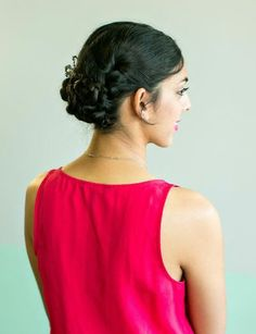 7 Ways to Style Hair for Every Summer Occasion // summer wedding // braided updo // how to // #diy #beauty // hair by Lindsey Kidd // makeup by Natalie Laine // photography by Awake Photography