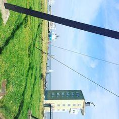 Das soll so #soulfoto #cuxhaven #sky #himmel #sun #sonne #haus #nordsee