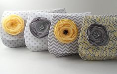 Lovely bridesmaids clutches from PaperFlora. #ThePerfectPalette