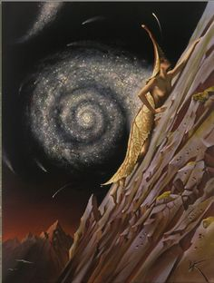 70 amazing paintings by the surrealist artist Vladimir Kush who also being called Russian Salvador Dali Vladimir Kush, Salvador Dali, Magritte, Wassily Kandinsky, Fantasy Kunst, Fantasy Art, Art Visionnaire, Arte Sci Fi, Psy Art