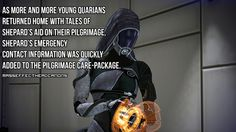 Mass Effect Headcanons : Photo