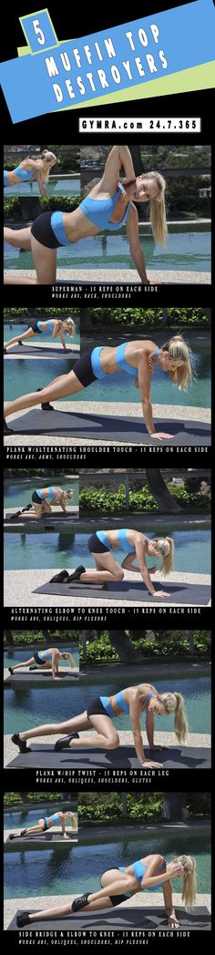5 Muffin Top Destroyers Workout