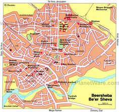 Maps of Eilat Eilat Group travel and Israel