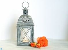 Unique Vintage Outdoor Lantern/ Shabby by OpenVintageShutters, $21.00