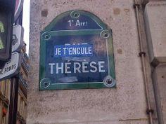 I love you Thérèse.