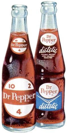 I went to church camp when I was 11.  They had a snack shack where we could buy candy, soda, and gum.  They had the first Dr.Pepper I had ever seen.  Being adventurous I splurged on my first bottle.  I still enjoy drinking one.
