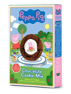 Peppa Pig Cookie Mix, use as muddy puddles.