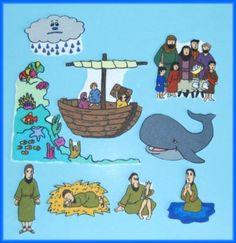 Jonah and the Whale Felt / Flannel Board Bible by StorytellingFun