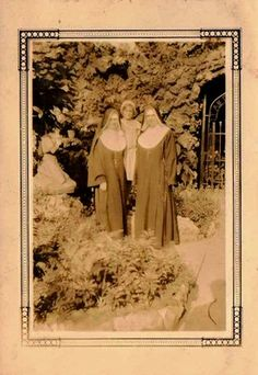 antique photo of nuns. Selling on ebay!