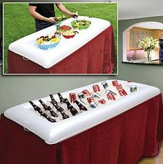 $10.34 for an inflatable salad bar/drink bar. Let's be clear - I'd be using it for drinks, not salad.