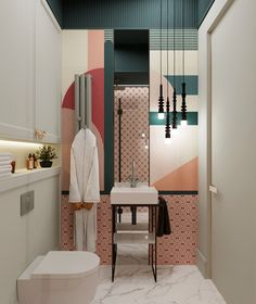 Scroll the gallery to evaluate how small space is correctly used . Bathroom Interior Design, Interior Decorating, Home Decor Bedroom, Room Decor, Deco Luminaire, Teen Bedroom Designs, Beautiful Interiors, Cheap Home Decor, Home Decor Accessories