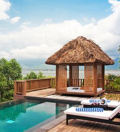 Secluded retreat between Hue and Hoi An. #Vietnam