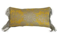 Fortuny    Pillow w/ Antique Fringe