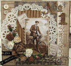 Valentine kort  Maybe for Mimi's valentine from Paris 1917