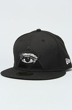 The Never Sleep New Era Cap in Black   Karmaloop.com - Global ac3d01f18eb