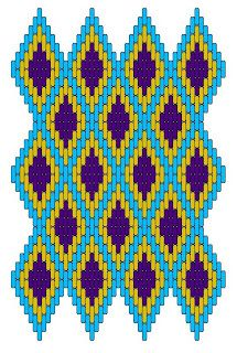 Medieval Arts & Crafts: Brick stitch pattern I love these colors! Broderie Bargello, Bargello Needlepoint, Needlepoint Stitches, Hand Embroidery Stitches, Cross Stitch Embroidery, Embroidery Patterns, Cross Stitch Patterns, Cross Stitching, Needlework