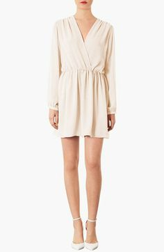 Topshop Chiffon Wrap Dress | Nordstrom