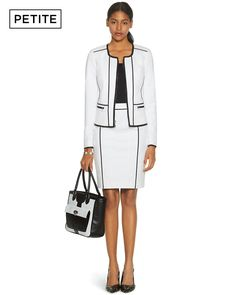 Jacket and Skirt by White House Black Market