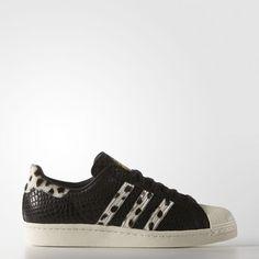 Superstar 80s Animal Shoes - Black Tenis Superstar 248be86b6