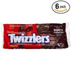 Chocolate Twizzlers, YUM!