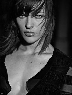 Mila Jovovich  (The fifth element, Resident evil)