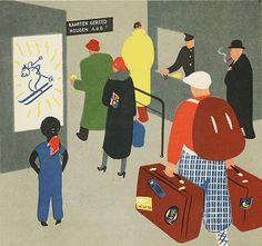 Marco Oppers, Okki Hoessah op het station