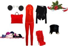 """Red 3"" by amalia-plocon on Polyvore"