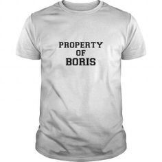 Awesome Tee Property of BORIS T-Shirts