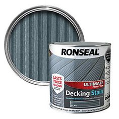 View Ronseal Ultimate Protection Slate Decking Stain 2.5L details