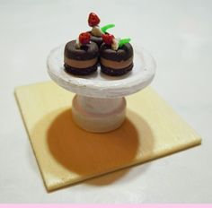 how to: mini pastry stand