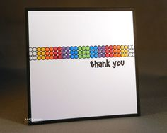 Lego Inspired Thank you by Ardyth - Cards and Paper Crafts at Splitcoaststampers  So cute ! :)