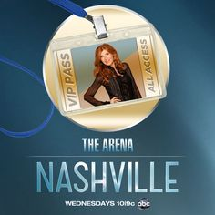 I tweeted to get my ticket to The Arena. Be social and talk about NASHVILLE!!!