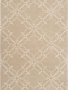 Surya Rug - AIW4001 - $117.60 per Rug #interiors #design #home #decor #trend #style #bright #colorful #designer #tips #apartment #inspiration #living #room #floor #tan #pattern #wool