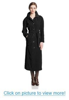 London Fog Women's Long Trench Coat with Hood #London #Fog #Womens #Long #Trench #Coat #Hood