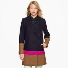 Just bought this fabulous looking thing! - Gap colourblock car coat
