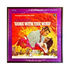 Gone With The Wind Album Art now featured on Fab.