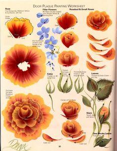 ONE Stroke Roses Of All Kinds - Oksana Volkova - Picasa Web Albums