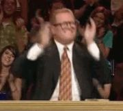 New trending GIF on Giphy. happy excited clapping happy dance exciting awesome you rock drew carey. Follow Me CooliPhone6Case on Twitter Facebook Google Instagram LinkedIn Blogger Tumblr Youtube