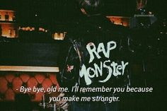 Bts Quotes, Bye Bye, Namjoon, You And I, Comebacks, Crying, Rap, Profile, Neon Signs