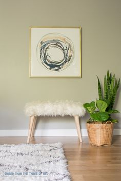 Make this Simple DIY Fur Bench for a fraction of the cost of buying one! This tutorial will show you how!