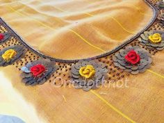 Hand Embroidery Dress, Cutwork Embroidery, Hand Embroidery Videos, Embroidery Suits, Hand Embroidery Designs, Black Blouse Designs, Simple Blouse Designs, Stylish Blouse Design, Blouse Neck Designs