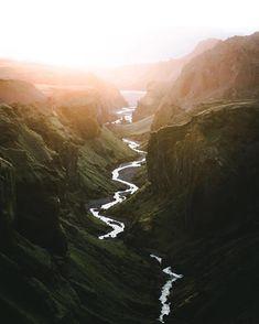 Travel Goals | Winding rivers in Iceland #IcelandBucketList