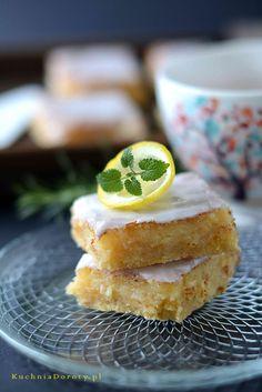 ciasto-cytrynowe Food Cakes, Cake Recipes, Lemon, Baking, Breakfast, Cakes, Morning Coffee, Mudpie, Bakken